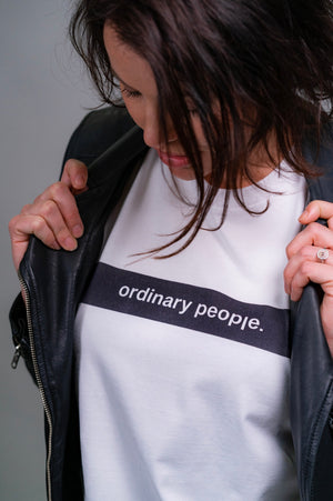 Ordinary People Classic Tee White