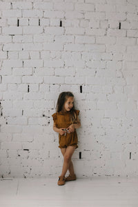 Evie Playsuit Golden