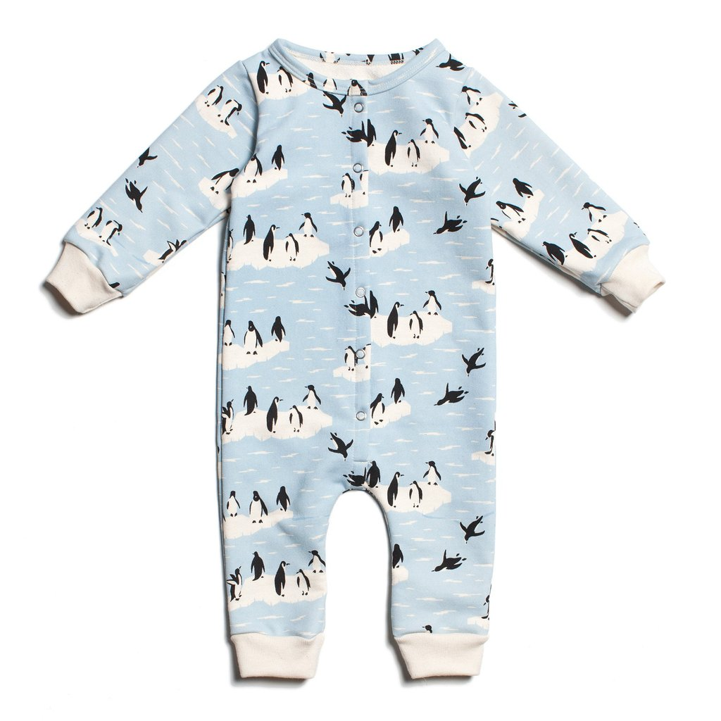 French Terry Penguins Jumpsuit