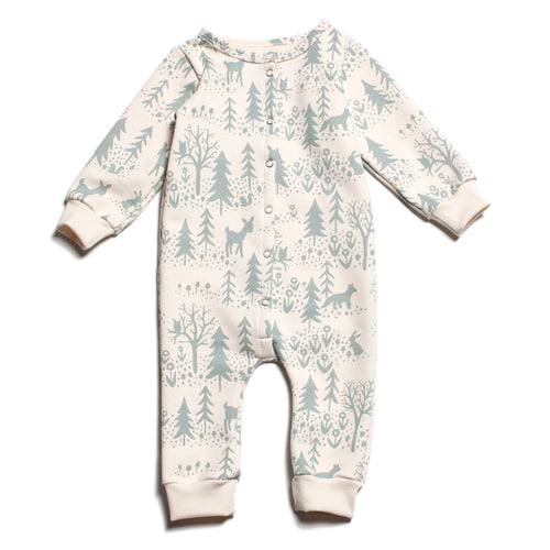French Terry Winter Scenic Jumpsuit