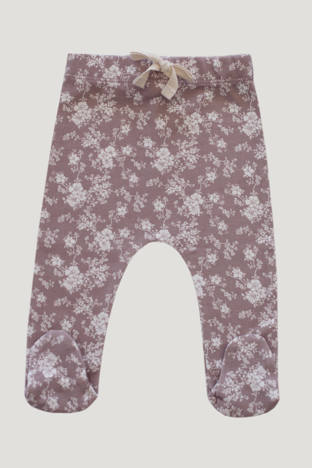 Fawn Floral Footed Pants