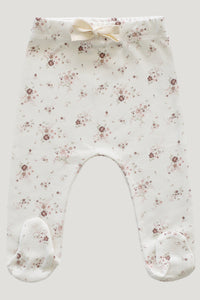 Sweet William Floral Footed Pants