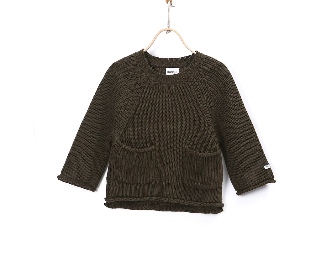 Stella Sweater Forest Green