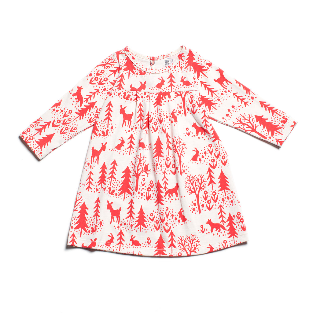 Toronto Winter Scenic Baby Dress