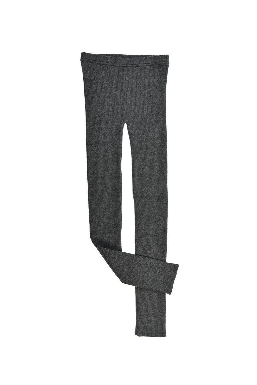 Nui Knit Leggings- Charcoal