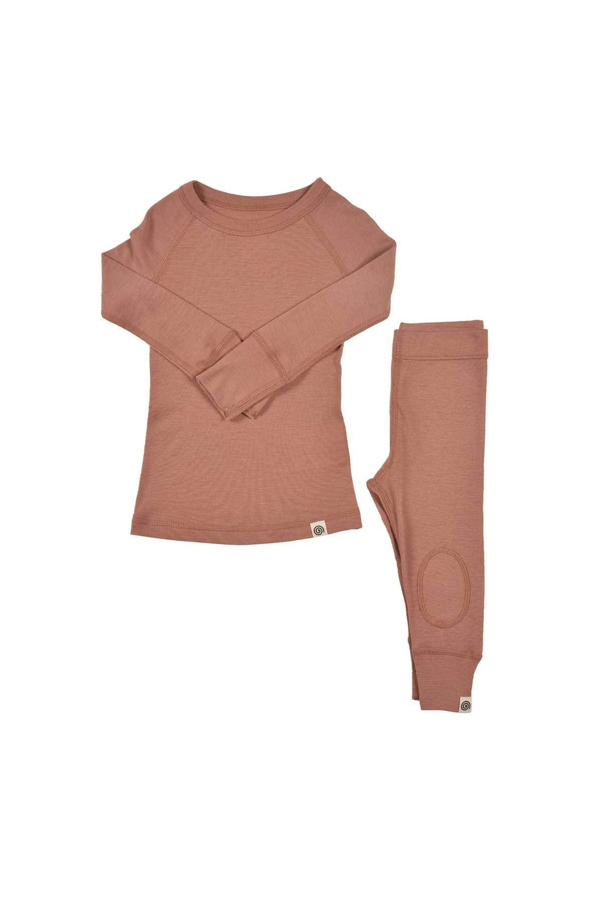 Merino Thermals Set- Dusk
