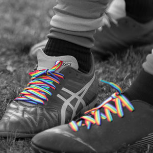 *SOLD OUT* Pride Laces- Short (5 Pairs)