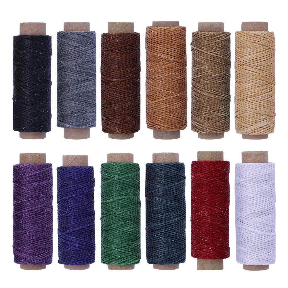 660Yards Leather Sewing Waxed Thread