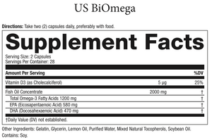 BiOmega™ Omega 3 oil