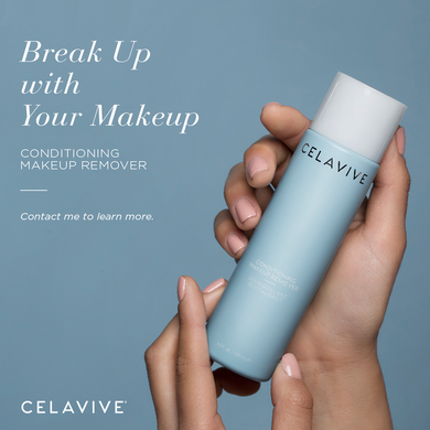 Celavive. Conditioning make up remover