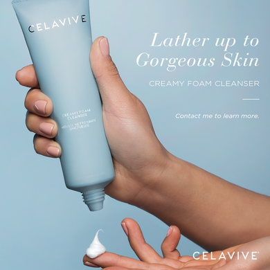 Celavive. Creamy foam cleanser for oily skin type