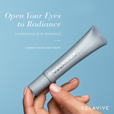 Hydrating eye essence.