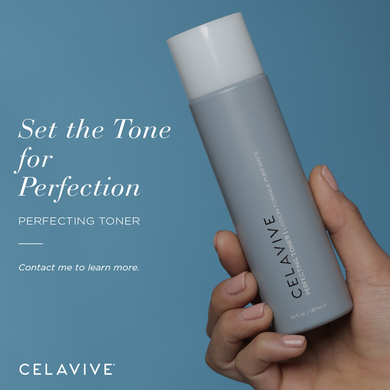Perfecting toner, removes lingering impurities