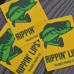 Rippin' Lips Sticker