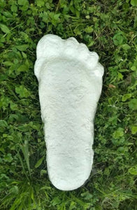 "1 Bigfoot Patterson ""Patty"" track footprint cast"