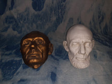 Load image into Gallery viewer, Abraham Lincoln life mask Mills cast 1865