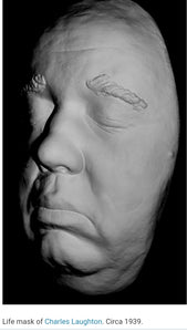 Charles Laughton Life mask (life cast)