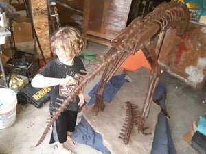 Lufengosaurus skeleton cast replica dinosaur for sale or rent