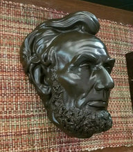 Load image into Gallery viewer, Abraham Lincoln Volk Sculpture cast 1865 (?)