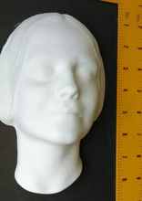 Load image into Gallery viewer, L'Inconnue de la Seine Face Cast (medium) Life Mask Death mask life cast