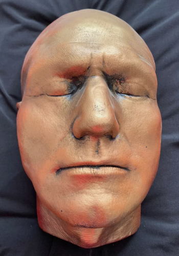Patrick Stewart Life size Life-Mask face casting mask life cast
