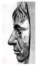 Load image into Gallery viewer, Horatio Nelson, 1st Viscount Nelson  Life Cast Life Mask Death Cast