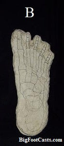 "1969 Bigfoot ""Cripple Foot"" cast B"