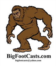 Load image into Gallery viewer, 1996 Patterson / Titmus cast #114-12 Bigfoot print cast