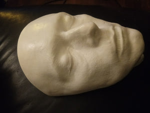 "Bowie, David Bowie Life Mask Cast ""The Hunger"""