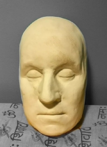 George Washington life mask death cast face head cast