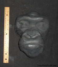 Load image into Gallery viewer, Gorilla life cast #1 Gorilla death cast  life mask