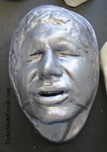 Load image into Gallery viewer, Han Solo / Harrison Ford as Han Solo life mask (life cast)