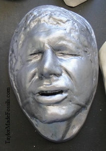 Han Solo / Harrison Ford as Han Solo life mask (life cast)