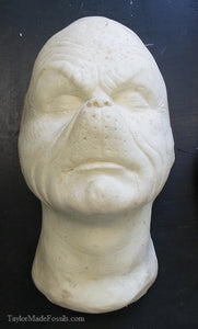 "Grinch: Jim Carrey ""The Grinch"" life cast"