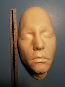 Johnny Depp Life Cast LifeMask Death mask life cast