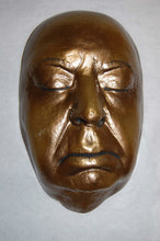 Load image into Gallery viewer, Alfred Hitchcock life mask / life cast