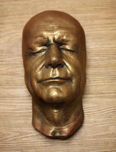 Connery, Sean Connery life mask life cast