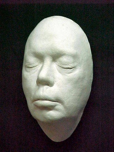 Curry, Tim Curry life mask life cast