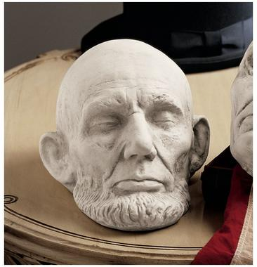 Abraham Lincoln life mask Mills cast 1865