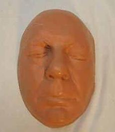 Chaney, Lon Chaney Jr. life mask / life cast