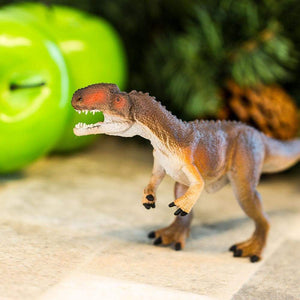 Monolophosaurus dinosaur toy from Safari Ltd. Item 302629