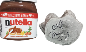 Bigfoot Nutella cast signed by Cliff Barackman