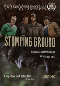 2015 Stomping Ground Bigfoot Foot cast