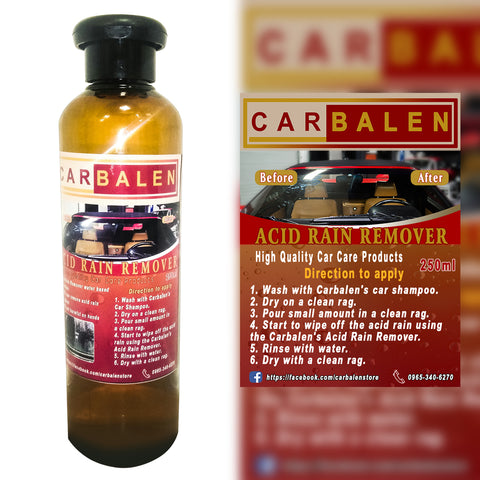 Where to buy Acid Rain Remover or Water Spot Remover in Philippines with Cash on Delivery Option