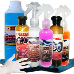 Carbalen Car Care Products Package