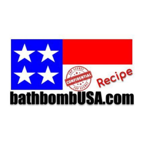 DIY Bath Bomb Recipe Digital Download - Bath Bomb USA