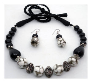 Antique Black Necklace - Inspired Creations