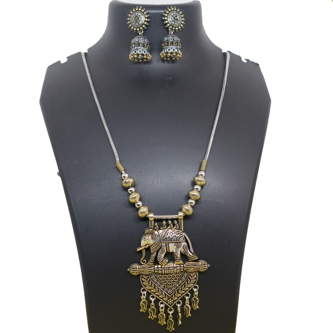 Antique Gold Bahubali - Inspired Creations