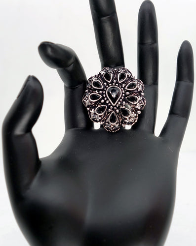 Black TD Finger Ring - Inspired Creations