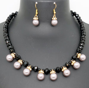 Black and  Pearls - Inspired Creations